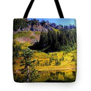 Chinook Pass Tote Bag