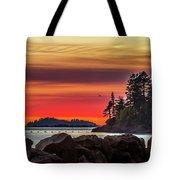 Chinook Sunset 2 Tote Bag
