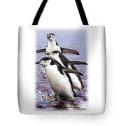 Chinstrap Penguins 1 Tote Bag