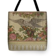 Chintz Valance For Poster Bed Tote Bag
