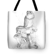 Chip And Chatter Tote Bag