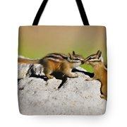 Chipmunk Love Tote Bag