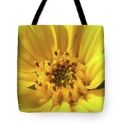 Chipmunk Planting - Sunflower Tote Bag