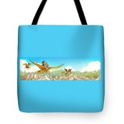 Chiricahua Mountains Panorama Tote Bag