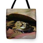 Chiricahua Leopard Frog Tote Bag