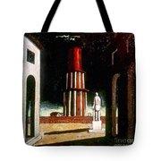 Chirico: Grand Tour, 1914 Tote Bag