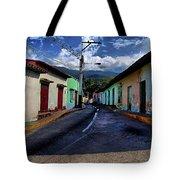 Chirimena Houses Tote Bag
