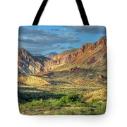 Chisos Mountains Of West Texas Tote Bag