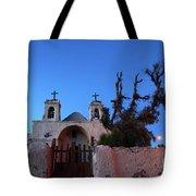 Chiu Chiu Church At Twilight Chile Tote Bag