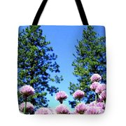 Chives Alive Tote Bag