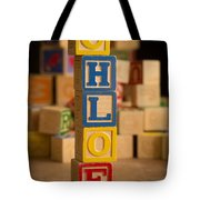 Chloe - Alphabet Blocks Tote Bag