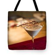 Chocolate And Cream Martini Cocktail Tote Bag