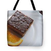 Chocolate And Orange Tote Bag