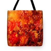 Chocolate Cherry Kiss Tote Bag