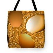 Chocolate Eggs Tote Bag