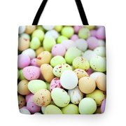 Chocolate Eggs Tote Bag
