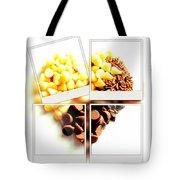 Chocolate Heart Mosaic Tote Bag