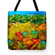 Chocolate Hills Pilippines Tote Bag