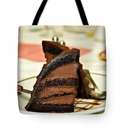 Chocolate Mousse Cake Tote Bag