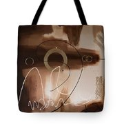 Chocolate Speed Tote Bag