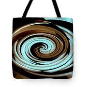 Chocolate Swirls Tote Bag