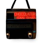 Chocolateria Tote Bag