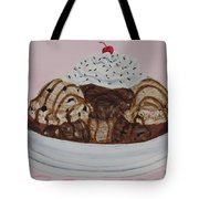Chocolatey Brownie Sundae Tote Bag