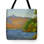 Chocorua Tote Bag by Sharon E Allen