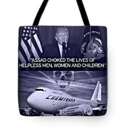 Choking The Usa Tote Bag