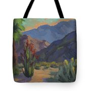 Cholla At Smoketree Ranch Tote Bag