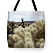 Cholla Cactus Garden Landscape Tote Bag