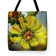 Cholla Flower H1848 Tote Bag