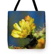 Cholla Flower H40 Tote Bag