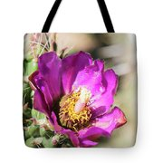 Cholla Flower Tote Bag