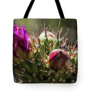 Cholla With Wasp Tote Bag