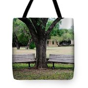 Choose Your Bench Tote Bag