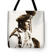Chopped Up Who Came From A Distance Tote Bag