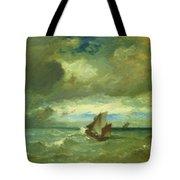 Choppy Sea 1870 Tote Bag