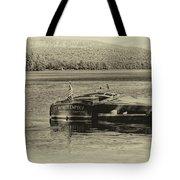 Vintage 1958 Chris Craft Tote Bag