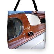 Chris Craft Enclosed Cruiser Tote Bag