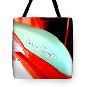 Chris Craft In Blur  Tote Bag