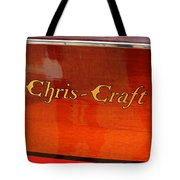 Chris Craft Logo Tote Bag by Michelle Calkins
