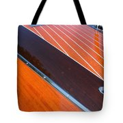 Chris Craft Powerboat Tote Bag