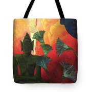 Christ And Buddha Tote Bag by Paul Ranson
