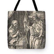 Christ Appearing To His Mother, From The Small Passion Tote Bag