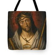 Christ As The Man Of Sorrows Tote Bag
