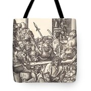 Christ Bearing The Cross Tote Bag
