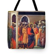 Christ Before Caiaphas 1311 Tote Bag