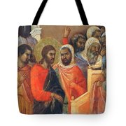 Christ Before Caiaphas Fragment 1311 Tote Bag
