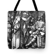 Christ Before Herod 1509 Tote Bag